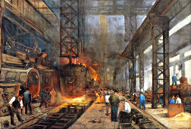 revolucion industrial trabajo cambios